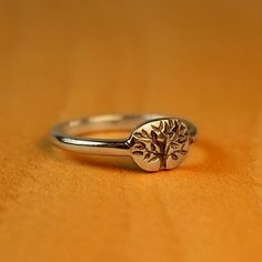 Narrow Tree of Life Wedding ring in by TurtleLoveCoArtisan on Etsy, $175.00