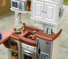New Life For Our Old Plastic Play Kitchen Crafts Pinterest