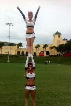 seriously love Flyers. All girl partner stunts are the best!