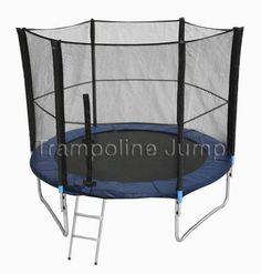 สปริงบอร์ดแทรมโพลีน trampoline 6 ฟุต เครื่องออกกำลังกาย เพิ่มความสูง รับน้ำหนักได้ 110 kg