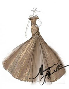 #Monique Lhuillier Created exclusively for Bergdorf Goodman's 111th Anniversary