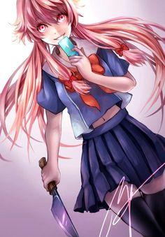 Yuno gasai #anime #manga
