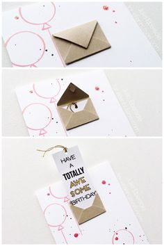 Totally awesome card + you tube video by Handmade Birthday Cards, Happy Birthday Cards, Birthday Gifts, Card Birthday, Tarjetas Diy, Bday Cards, Cool Cards, Homemade Cards, Diy Gifts