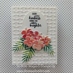 Tropical Flowers, Cactus Flower, Exotic Flowers, Purple Flowers, Lilies Flowers, Art Flowers, Tarjetas Stampin Up, Diy Fimo, Stampin Pretty