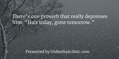 A selection of witty and inspirational hair loss quotes and baldness quotes. Loss Quotes, Hair Transplant, Latest Hairstyles, Hair Today, Hair Loss, Proverbs, Hair Inspiration, Quotations, Depression