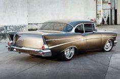 Visit The MACHINE Shop Café... ❤ Best of Chevy @ MACHINE ❤ (1957 Chevrolet Bel Air Coupé)