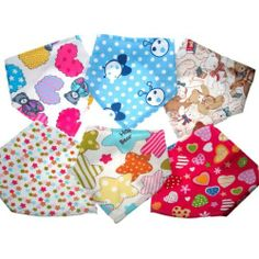 New Design! Funky double layer bandana style dribble bibs by Soft Touch (#1 love bear) by Soft touch, http://www.amazon.co.uk/dp/B00GN8FE7W/ref=cm_sw_r_pi_dp_O0hftb1MP7KY7