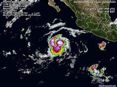Huracán Seymour se fortalece en las costas del Pacífico - http://www.meteorologiaenred.com/huracan-seymour.html