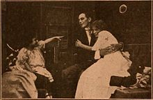 Still from the 1910 silent film The Doctor's Carriage.  The film is lost.