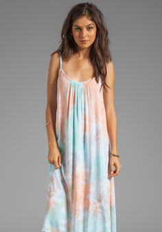 TIARE HAWAII Rio Dress in Peach/Teal/Grey at Revolve Clothing - Free Shipping!