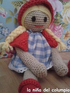 Muñeca de crochet. Crochet doll.