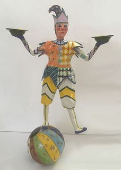 Porcelain harlequin