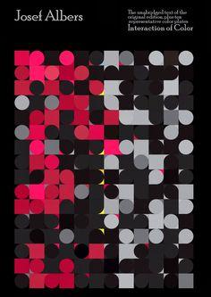 Josef Albers. Caldria incidir en el treball d'aquest estudiós del color.