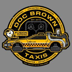 Taxi to the Future - NeatoShop