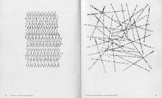 "Emmette Williams, ""Prospectus for magazine Material"" (1958) and Shohachiro Takahashi, ""Water Land"" (1969) in Alan Riddell, 'Typewriter Art' (1975)"