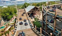Branson Tracks - go karts and other rides