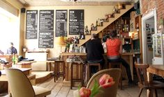 A PLACE CALLED MYXA - super cute greek café bar in Neukölln Berlin