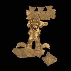 Human-alligator effigy pendant      Veraguas-Gran Chiriquí, A.D. 900–1550       Veraguas or Chiriquí Provinces, Panama