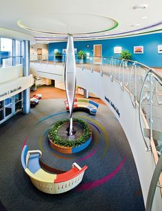 Specialty Pediatric Center at Omaha Children's Hospital and Medical Center by HDR Architecture