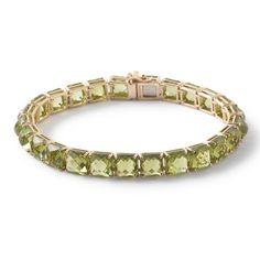 Ippolita Rock Candy® 18K Gold Tennis Bracelet-Peridot