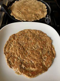 Lijnzaadwraps - WayMadi.nl Low Carb Bread, Keto Bread, Low Carb Keto, Meat Recipes, Low Carb Recipes, Healthy Recipes, Paleo Wraps, Good Food, Yummy Food