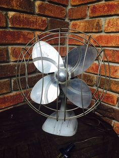 Vintage Art Deco Dominion Industrial Oscillating Electric Fan - Model 2010 by VintageVixens1 on Etsy