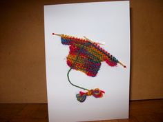 Greetings Card with Knitted Jumper £2.00