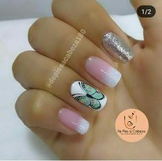 Manicure Natural, Pedicure, You Nailed It, Finger, Nail Designs, Hair Beauty, Nail Polish, Make Up, Nail Art