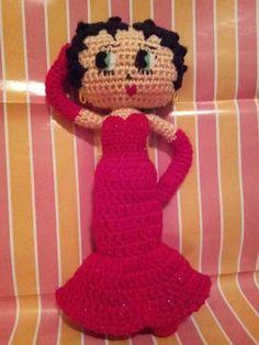 betty boop tejida a crochet