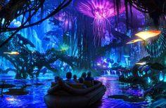 Mundo Avatar na Disney Orlando #viagem #orlando #disney