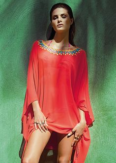 ISABELI FONTANA FOR MORENA ROSA BEACH FALL 2013 CAMPAIGN - Fashion Diva Design