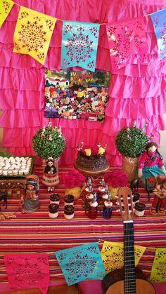 Clara's Peruvian theme birthday party | CatchMyParty.com