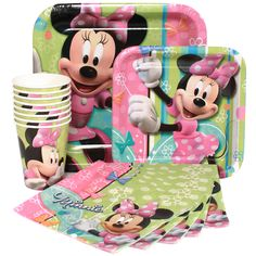 Image detail for -Minnie Mouse Birthday Express Party Package for 8, FREE shipping offer ...