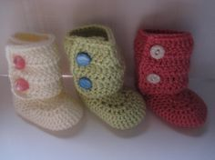 Design your own Baby Booties 03m 36m 69m 912m you by TinyToesBaby, $15.50