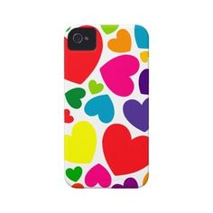 iPhone Cases With Hearts ❤ liked on Polyvore