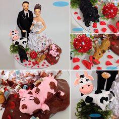 Porque eles fizeram a maior bagunça 😂😁😍 #topodebolo  #vidadeveterinario 🐮🐷🐶#vidadebancaria 🤑💵 #adm 📝 #noivinhostopodebolo ❤️#noivinhoscaraarteembiscuit #caraarteembiscuit #noivinhosdiferente #noivinhos #casamento #casacomigo #cachorrinhos 💖 #wedding 💘 #weddingcake 💍 #weddingdream 👰🏽 #weddingdress #noiva #noivas #noivas2016 #noivasdobrasil #instanoivas #universodasnoivas #casamentos #animaisdeestimação #noivasdeminas #noivasrj ❣Orçamentos: caraarteembiscuit@yahoo.com.br, ou…