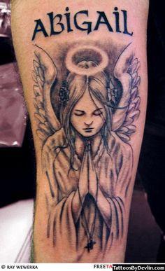 Angel Devil Tattoo   Tattoos by Devlin