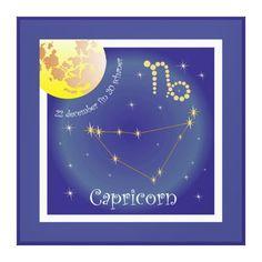 Capricorn 22 more december fin 20 of schaner canvas print