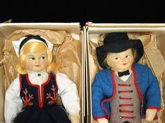 US $125.00 Used in Dolls & Bears, Dolls, By Type Girl Dolls, Norway, Scandinavian, Bears, Felt, Type, Best Deals, Bear, Dolls