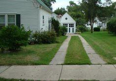 ribbon driveway want one