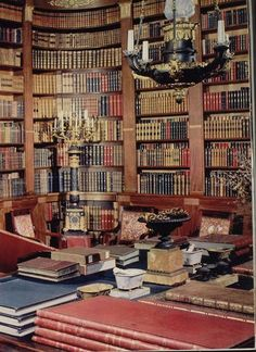Empire style library