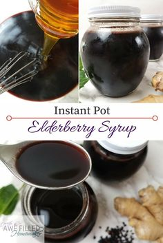 The healing of elderberry is amazing. I also love my instant pot, so I wanted a recipe that allowed me to make elderberry syrup in the instant pot.