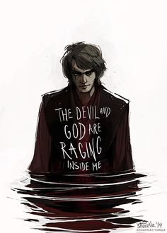 Anakin Skywalker by shorelle... this is just a little perfect... but no devil.. just conflict.