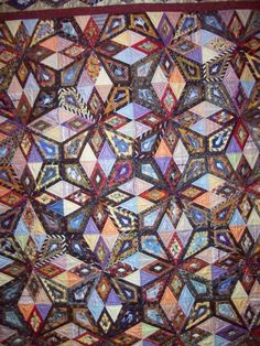 a tie quilt?  Wow, one of the better ones I've seen.