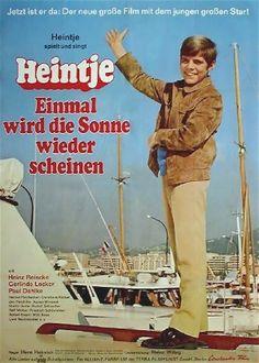 """Kinoplakat - #Heintje - """"Einmal wird die Sonne wieder scheinen"""""""