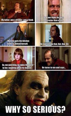 Movie Memes, Dc Memes, Funny Memes, Funny Quotes, The Dark Knight Trilogy, Batman The Dark Knight, Yolo, Joker Origin, Nananana Batman