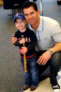 """Michael Young is my team!""  http://sports.espn.go.com/dallas/mlb/news/story?id=6146530"