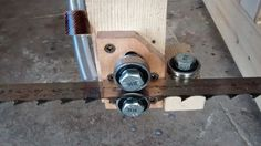 Homemade bandsaw mill - by geekwoodworker @ LumberJocks.com ~ woodworking community