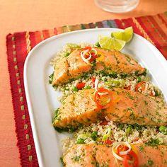 salmon + quinoa - gluten free