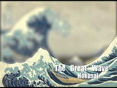 "This video reviews the important parts of an artwork that students should generally include for it to be considered complete. Including Foreground, Middleground, Background, and overlap help develop the sense of depth in a work of art.    CORRECTION: in Hokusai's ""Great Wave"" image, the background is Mount Fuji, not a wave. High School Art, Middle School Art, Hokusai, Komposition, Principles Of Art, Art And Technology, 2nd Grade Art, Art Curriculum, Art Lessons Elementary"